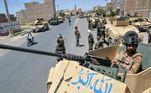 Talibãs atacam aeroporto de Kandahar, no AfeganistãoVEJA MAIS