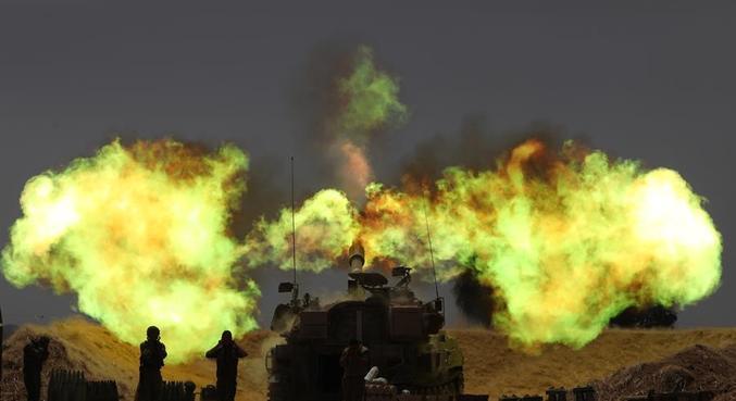Mais de 50 pessoas já morreram desde a escalada dos conflitos na faixa de Gaza