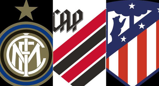 A Inter de Milão terá novo logo e escudo nas próximas temporadas. Com essa mudança, a reportagem montou uma galeria de imagens com times brasileiros e europeus que mudaram seu escudo na última década. Confira!