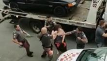 PM prende sete pessoas e agride mulheres em confusão generalizada