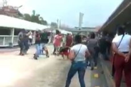Confusão na Estação Capão Redondo