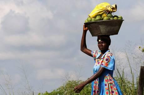 A RDC (Congo) enfrenta fome por conflitos