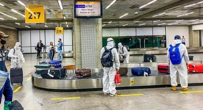 Passageiros que desembarcarem em Congonhas farão testes de covid-19