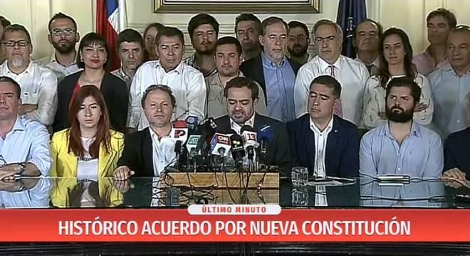 Congressistas anunciam regras para uma nova Constituição para o país