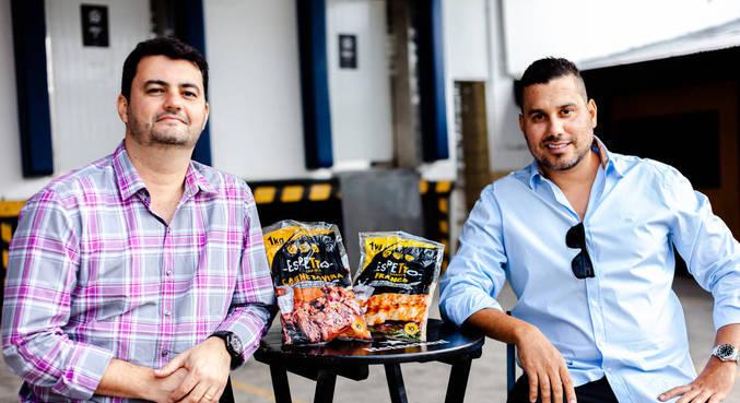 Amigos de adolescência, Leandro Souza e Bruno Gorodicht têm negócio juntos no Rio de Janeiro
