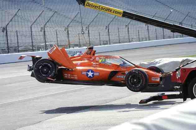 Conor Daly promoveu um dos acidentes da corrida