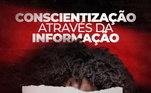 O Flamengo usou fotos de seus jogadores com manchetes de jornais: 'A data de hoje acende holofotes sobre a causa a cada novembro, mas a consciência racial precisa ser exercitada em todos os dias do ano. Apenas com conhecimento, ação e vigilância permanente poderemos caminhar em direção a uma sociedade antirracista.'