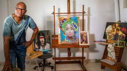 Em projeto especial, escola troca pintores célebres por artista local em Sorocaba (SP) ()