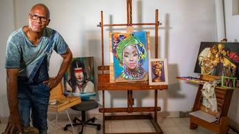 __Escola troca pintores célebres por artista local em Sorocaba (SP)__ (Reprodução)