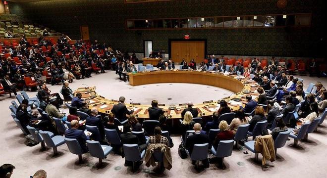 Conselho de Segurança da ONU reunido