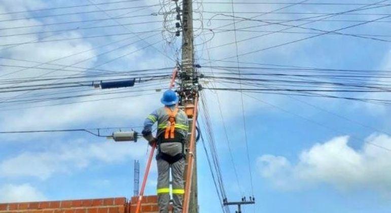 Moradores de São Luís (MA) estão sem energia elétrica nesta sexta-feira (8)