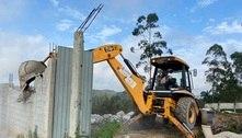 SP: Polícia Ambiental desmonta construção clandestina na zona sul