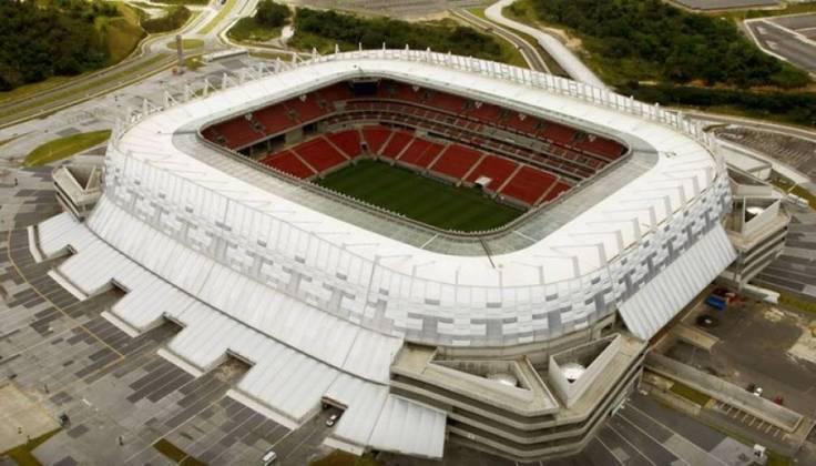 Construída na região metropolitana de Recife, a Arena Pernambuco tem apenas sete anos de idade, mas foi uma das sedes da Copa das Confederações de 2013 e da Copa do Mundo de 2014.