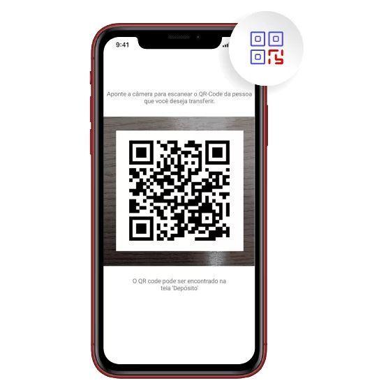 Leitor de QR Code é uma das funcionalidades do aplicativo