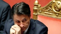 Primeiro-ministro da Itália anuncia que apresentará renúncia ao presidente (Yara Nardi / Reuters - 20.8.2019)