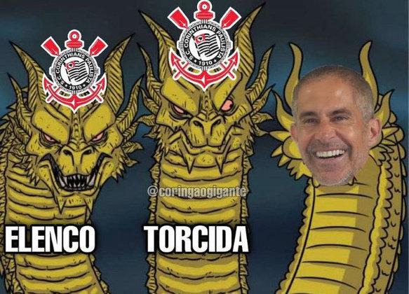 Contra o América-MG, Corinthians chegou ao terceiro empate consecutivo por 1 a 1 e desempenho irritou os torcedores nas redes sociais. Confira na galeria alguns memes! (Por Humor Esportivo)