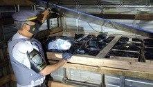 Motorista é preso com 230 celulares sem documentos no interior de SP