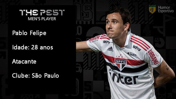 Contratação mais cara da história do São Paulo, Pablo não justificou o investimento e tem sido banco para Luciano e Brenner