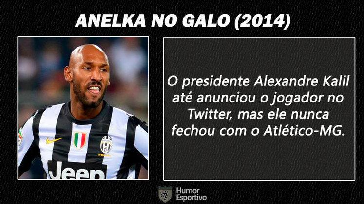 Contratações 'fail' do futebol brasileiro: Anelka no Atlético-MG