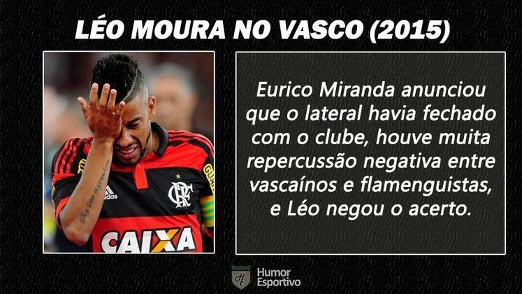 Contratações 'fail' do futebol brasileiro: Léo Moura no Vasco