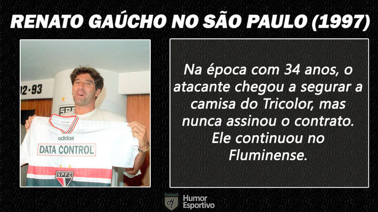 Contratações 'fail' do futebol brasileiro: Renato Gaúcho no São Paulo