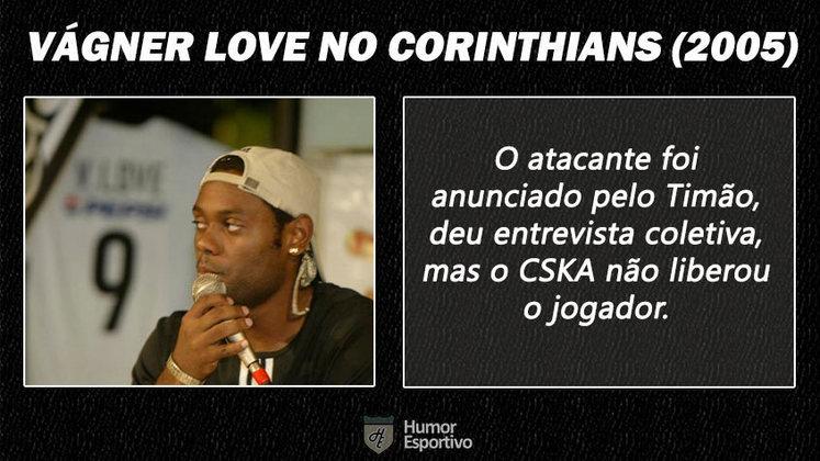 Contratações 'fail' do futebol brasileiro: Vágner Love no Corinthians