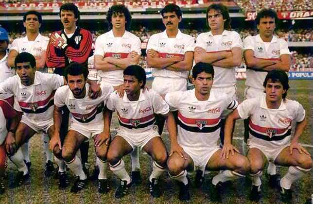 Contratado do Botafogo-SP em 1987, Raí faturou sua primeira taça em 1989: foi a do Paulistão, após final contra o São José, com vitória por 1 a 0 na ida e empate sem gols na volta. Ele era titular.
