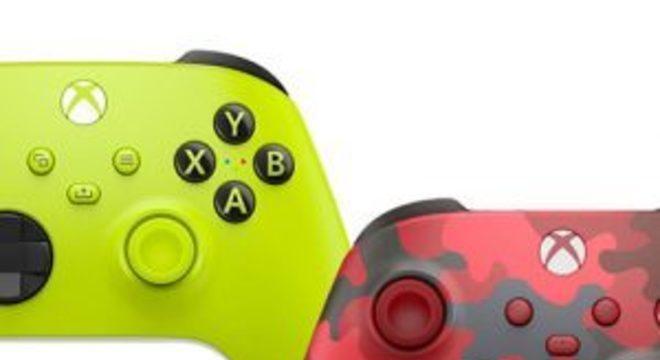 Controle do Xbox Series X|S ganha duas novas cores