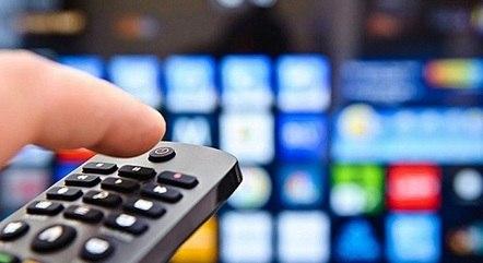 Venda de aparelhos de TV em alta