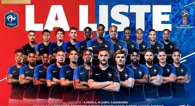 a05ff2872 Convocados da seleção francesa valem mais do que os brasileiros ...