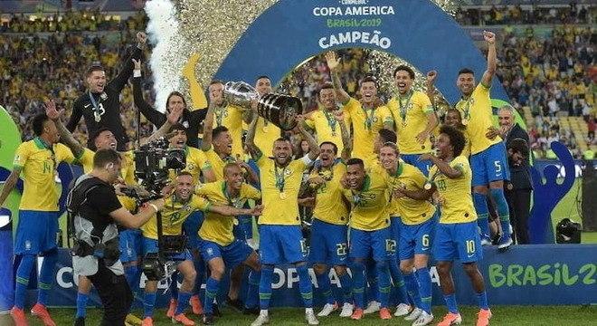 Seleção brasileira foi campeã da edição do ano passado que foi no Brasil