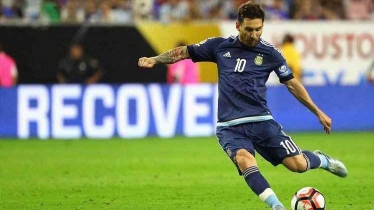 Copa América 2016 - Colocação da Argentina: perdeu para o Chile na final