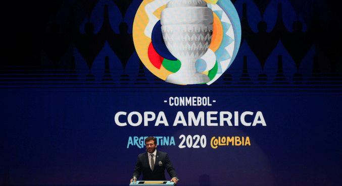 Argentina e Colômbia seriam as sedes da Copa América