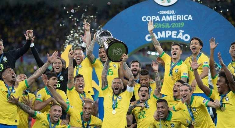 O Brasil ganhou a última competição, em 2019. Conmebol quer torneio por dinheiro da transmissão