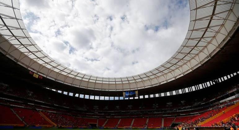 Estádio Mané Garrincha, um dos possíveis palcos da Copa América 2021