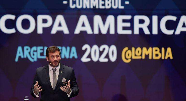 Colômbia não será mais sede da Copa América. Apenas a Argentina receberá os jogos do torneio