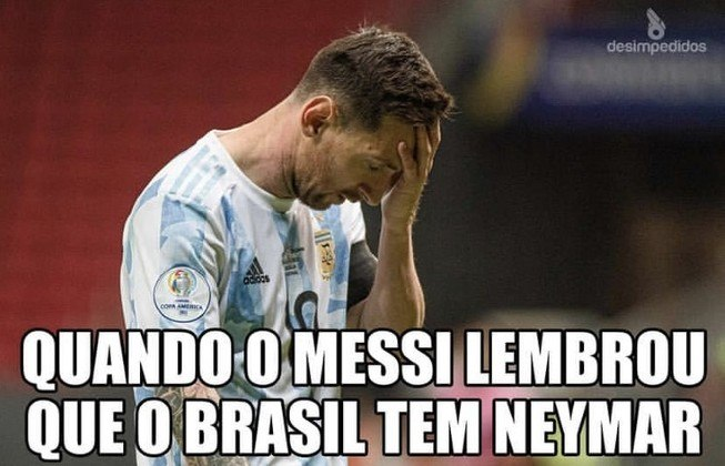 Copa América: Final entre Brasil e Argentina inspirou memes nas redes sociais
