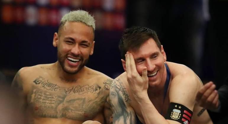A amizade entre Neymar e Messi. Mas o dinheiro da família real catariana. Trunfos do PSG