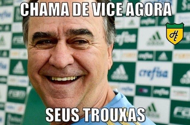 Copa do Brasil 2015 - Após perder o Paulistão para o Santos, o Verdão foi campeão da competição nacional sobre o rival sob o comando de Marcelo Oliveira