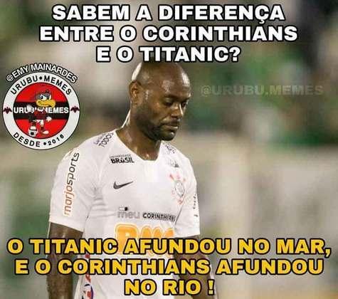Copa do Brasil 2019: na partida de volta, nova derrota alvinegra. O Flamengo venceu por 1 a 0 no Maracanã (gol de Rodrigo Caio)