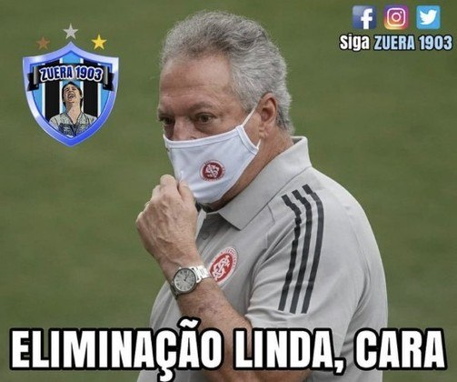 Copa do Brasil: os melhores memes da eliminação do Internacional para o América-MG