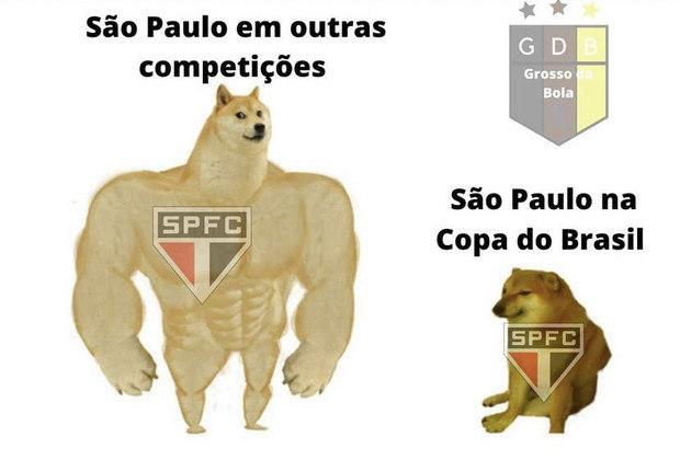 Copa do Brasil: os melhores memes de 4 de Julho 3 x 2 São Paulo