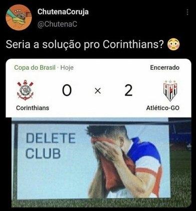 Copa do Brasil: os melhores memes de Corinthians 0 x 2 Atlético-GO