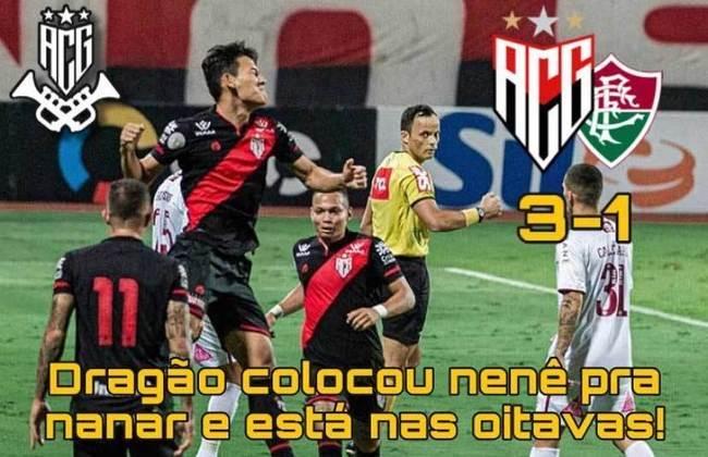 Copa do Brasil: os memes da eliminação do Fluminense após derrota por 3 a 1 para o Atlético-GO