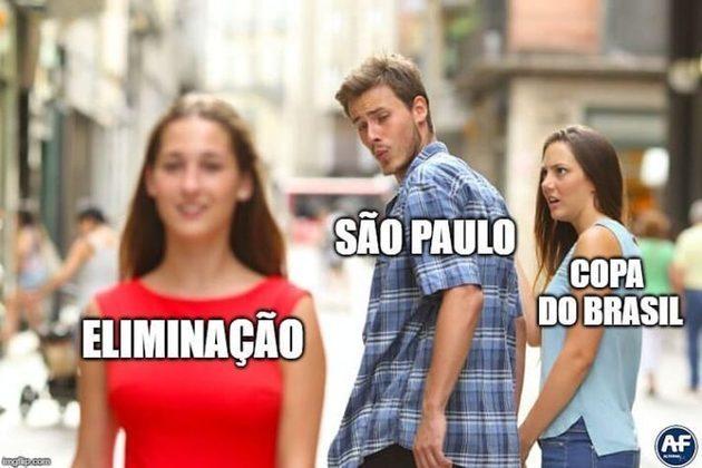 Copa do Brasil: São Paulo vira alvo de memes após eliminação para o Fortaleza