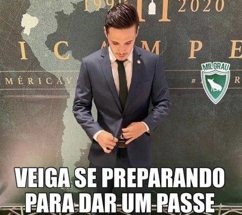 Copa do Brasil: torcedores do Palmeiras tiram onda após conquista sobre o Grêmio