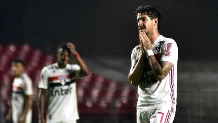 Copa do Brasil/Oitavas/Bahia: O São Paulo saiu na competição para o Bahia. Perdeu por 1 a 0 na ida e empatou em 0 a 0 no jogo da volta.