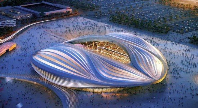 Governo catariano promete os mais impactantes estádios da história