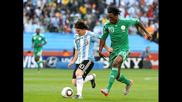 Copa do Mundo 2010 - Colocação Argentina: perdeu para a Alemanha nas quartas de final