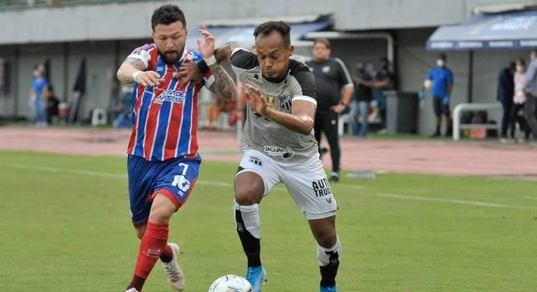 Ceará larga na frente e vence o Bahia na primeira final da Copa do Nordeste